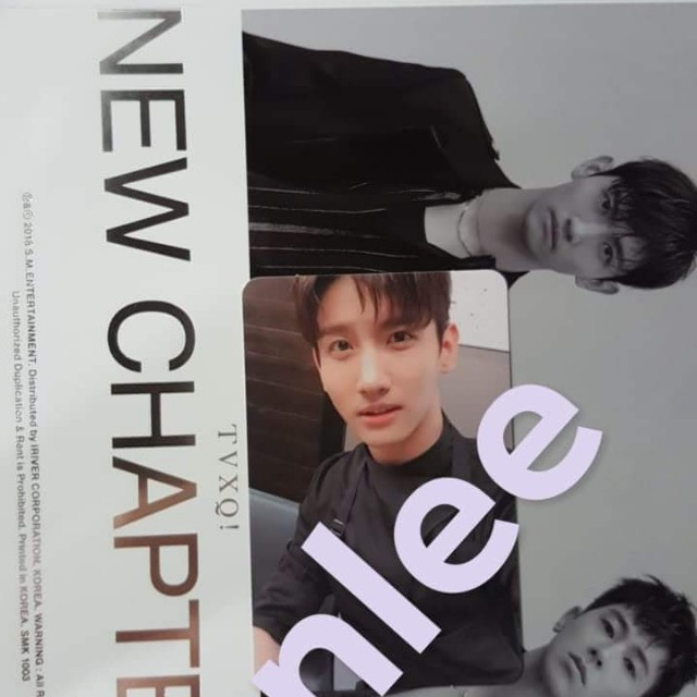 WTT WTS TVXQ CHAPTER 1 PHOTOCARD