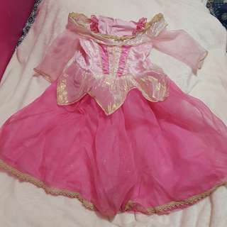 Sleeping Beauty Costume 3 to 4 years old