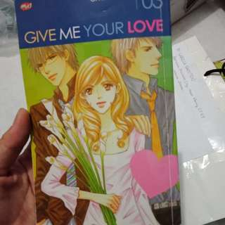 OHYA kazumi give me your love
