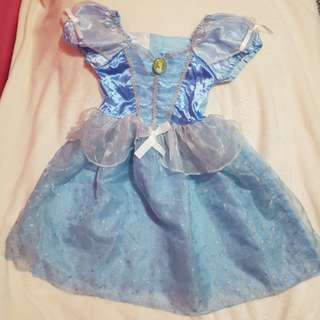 Cinderella Costume 4 to 5 years old