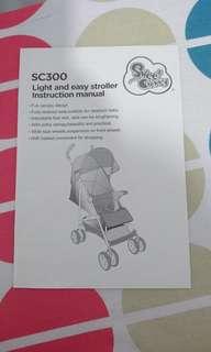 Sweet Cherry SC300 Stroller