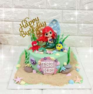 人魚公主蛋糕