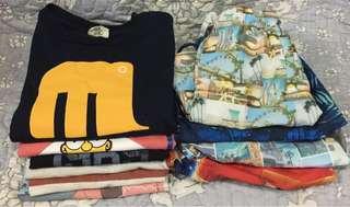 Summer Kids T-shirt + shorts ($250/10pcs)