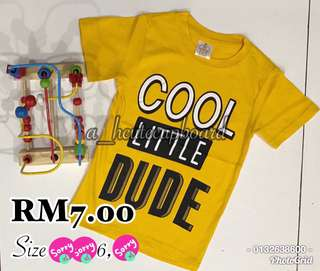 T Shirt Kanak-kanak