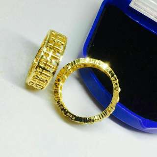 [PREORDER] 916 Gold Abacus Ring