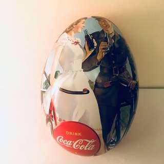Coca Cola 蛋型罐 + 砌圖