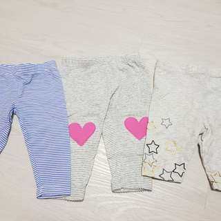 Baby long pants x3
