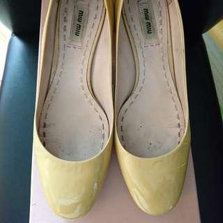 Miu Miu crystal heel pumps size 37 水晶高跟鞋