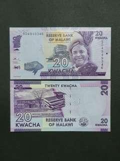 Malawi 20 Kwacha 🇲🇼 !!!