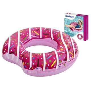 [Brand New] Pink Glazed Doughnut Float