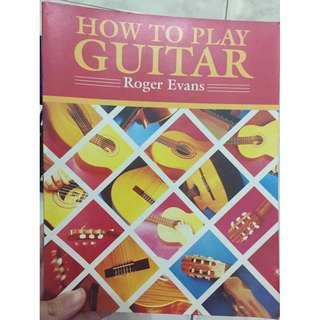 Buku How to Play Guitar (Belajar Gitar)