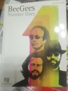 Beegees Number one 琴譜 吉他譜 聲樂