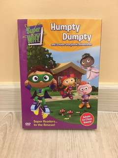 Super Why Humpty Dumpty DVD