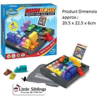ThinkFun - Rush Hour - Traffic jam  Logic games