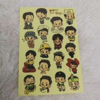 EXO babies stickers