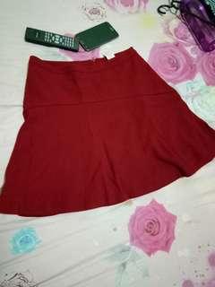 Rok mini merah