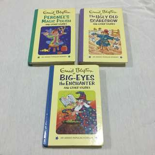Assorted Enid Blyton books