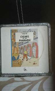 Vcd  The adventures of tin tin  Cigars of the pharoah  Tin set   Pickup hougang buangkok mrt Or add $1 for postage