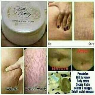 Milk & honey body lotion