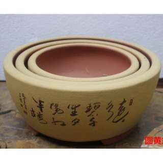 New Arrival Bonsai Pot Assorted Sizes and Designs
