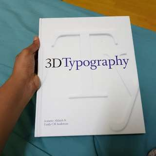 [Design book]  3D Typography