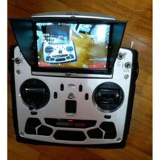 Walkera Devo F12E remote Transmitter with LCD monitor for Fpv drone  f12e (Can be upgrade to multi protocol)