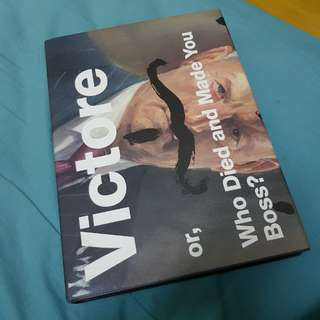 [Design book] Victore or, who died and made you boss?