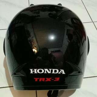 Helm Honda Hitam Original