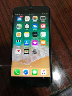 iPhone 6s+ 16 gb good condition no scratches battery life 100%