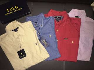 4 for Rm90 Ralph Lauren Shirt Authentic Preloved