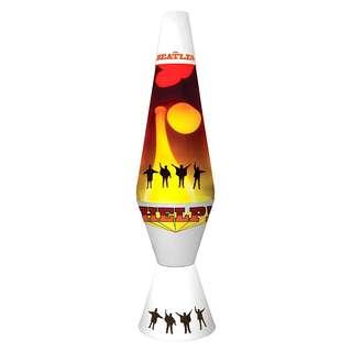 196. Beatles Collectible: 2015 Lava Lite The Beatles HELP! Lava Lamp