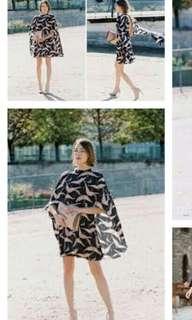 Valentino cape dress (Authentic)