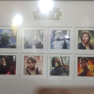 Star wars force awaken stamps