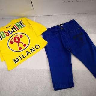 Baby Moschino Set
