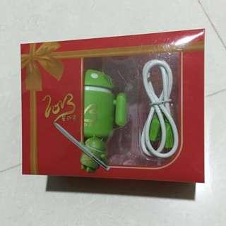 三星 Android 公仔造型 USB 2.0 hub