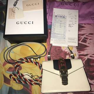 Gucci Leather Sylvie Mini