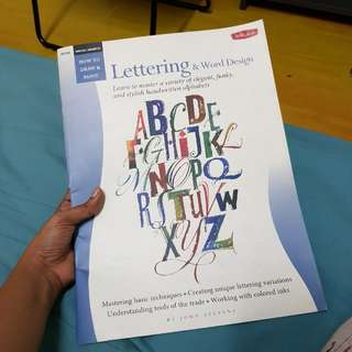 [Design book] Lettering and Word design