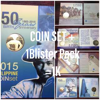 Coin Set + 1Blister Pack