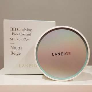 [BNIP] Laneige BB Cushion Whitening + Refill #21