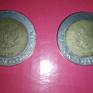 Uang Kuno THN 1996