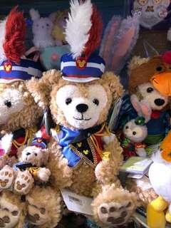 日本迪士尼 35週年 Happy Marching Fun Duffy SS size 公仔(日版)