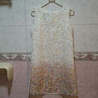 BNEW Party Cream Shift Dress