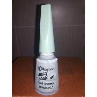 Flormar Jelly Look Nail Enamel (Nail Polish) Shade: Pastel Green (JL 16)