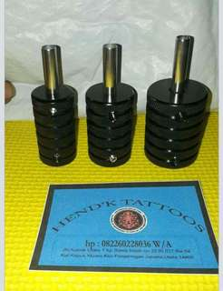 Grip stenlise hitam 35mm