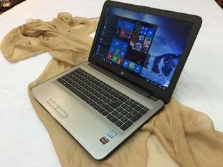 HP NoteBook PC 15 / Core i5 6thgen / AMd Radeon R5 / 500GB HDD / 4GB RAM