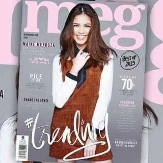 Meg magazine Maine Mendoza
