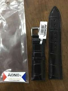 Watch Leather Strap 23mm
