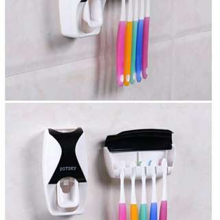 Toothpaste touch me Dispenser #furniture50