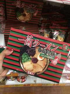 Japan Ichiran Ramen 日本一蘭拉麵