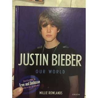 Buku Justin Bieber Our World